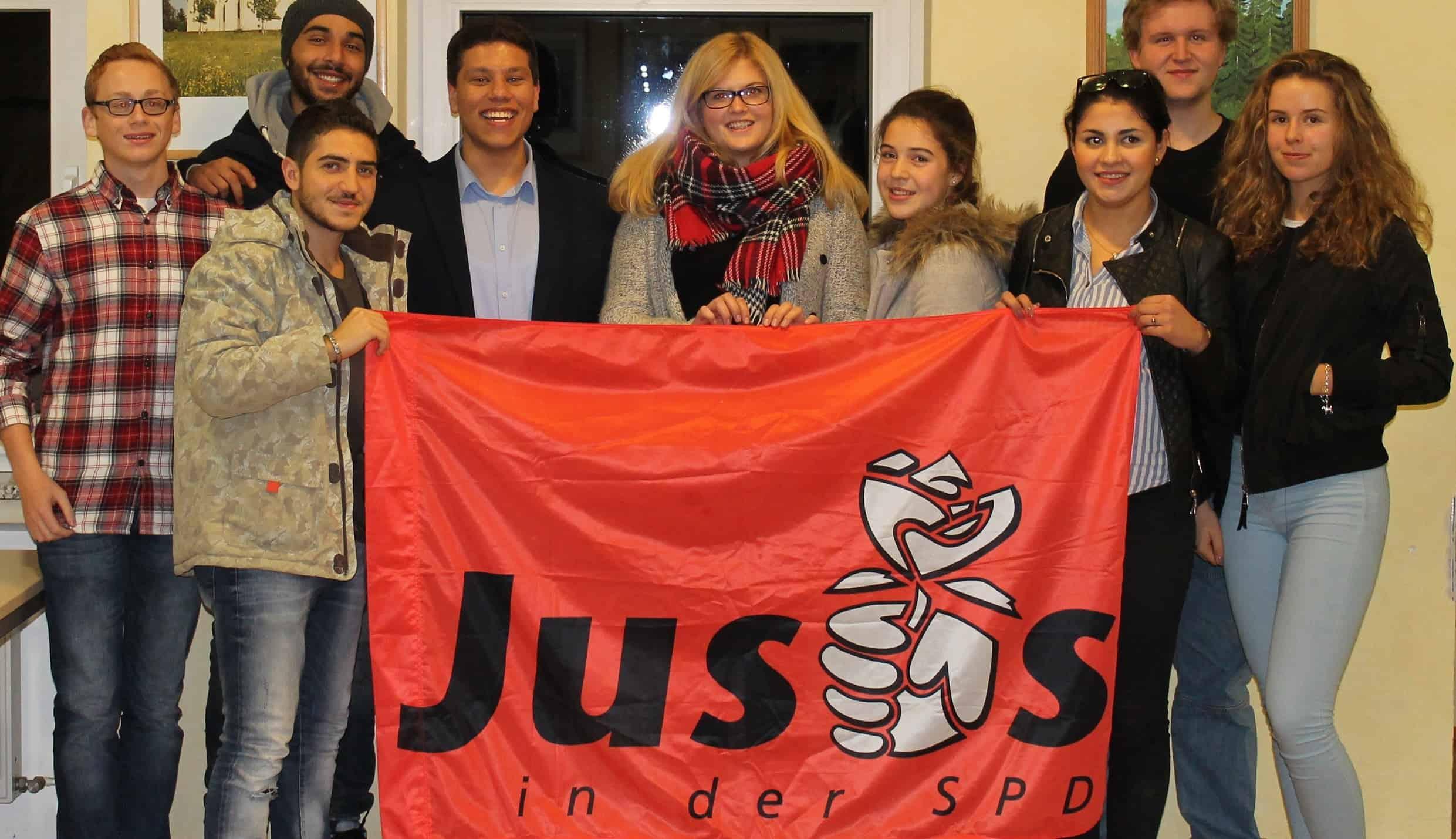 SPD-Jungpolitiker debattieren über Flüchtlinge